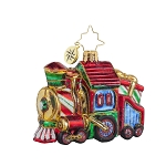 RADKO 1017710 SWEET CHUGGIN ALONG GEM - CANDY TRAIN ORNAMENT - NEW 2015 (23)