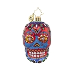 RADKO 1017714 LA CALAVERA GEM - DAY OF THE DEAD - SKULL ORNAMENT - NEW 2015 (23)
