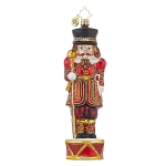 RADKO 1017756 GENERAL CRACKER - ENGLAND - BEEF EATER NUTCRACKER ORNAMENT - NEW 2015 (15-8)