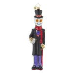 RADKO 1017801 OUT OF TIME - HALLOWEEN - SKELETON  MAN NEW 2015 (H6)