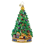 RADKO 1017973 JOYFUL GLOW - 'TWAS THE NIGHT BEFORE CHRISTMAS COLLECTION - CHRISTMAS TREE ORNAMENT - NEW 2015 (15-1)