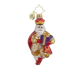 RADKO 1017979 LORDS-A-LEAPING GEM - 12 DAYS OF CHRISTMAS - LEAPING LORD ORNAMENT - NEW 2015 (23-1)