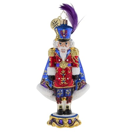 RADKO 1019296 PURPLE MAJESTY - LIMITED EDITION OF 1200 - JEWELED NUTCRACKER ORNAMENT - NEW 2018 (18-1)