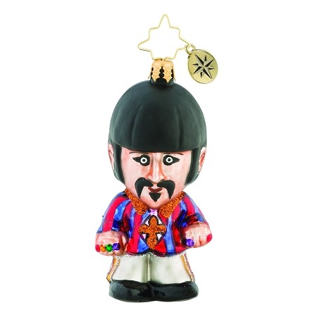 RADKO 1019346 STILL A STARR! GEM - BEATLES COLLECTION - RINGO STARR ORNAMENT - NEW 2018 (26-7)