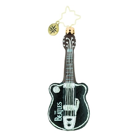 RADKO 1019352 STRING OF HITS GEM - BEATLES COLLECTION - GUITAR ORNAMENT - NEW 2018 (26-8)
