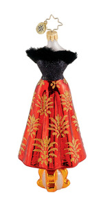 RADKO 1015265 FESTIVE FROCK - LADIES BLACK & RED DRESS - NEW 2011 (Q9)