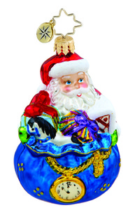 RADKO 1015635 IN THE NICK OF TIME GEM - SANTA - GIFTS - NEW 2011 (19)