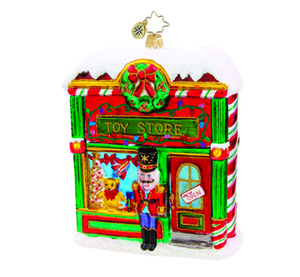RADKO 1015712 OPEN FOR BUSINESS - TOY STORE - GIFT STORE EXCLUSIVE - NEW 2011 (11-9)