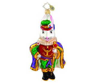 RADKO 1015816 REGAL RABBIT - EASTER BUNNY - NEW 2011 (11-8)