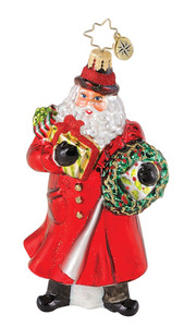 RADKO 1014986 34th STREET NICK - ENGLISH SANTA - NEW 2010 - (Q8)