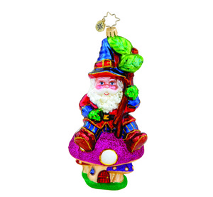 RADKO 1015710 NICE TO GNOME YOU - MUSHROOM ORNAMENT - NEW 2011 (11-5)