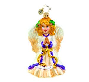 RADKO 1015471 HOLLY HALO - ANGEL ORNAMENT - NEW 2011 (11-8)