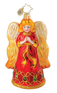 RADKO 1015108 HOLIDAY HERALD - ANGEL ORNAMENT - NEW 2011 (11-9)