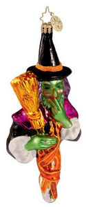 RADKO 1012366 TWITCHY - WITCH - HALLOWEEN - RETIRED ORNAMENT (H1)