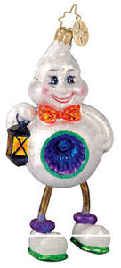 RADKO 1011889 GOOFY TWOFY - GHOST - HALLOWEEN - RETIRED ORNAMENT (H1)
