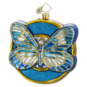 RADKO 1016217 WINGS OF HOPE - DIABETES AWARENESS - BUTTERFLY - NEW 2012 (12-1)