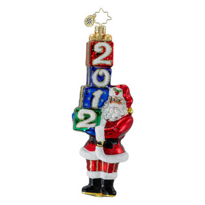 RADKO 1016365 DATED FOR DELIVERY - DATED 2012 - SANTA WITH GIFTS (12-2)