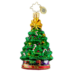 RADKO 1016193 HOLIDAY CENTERPIECE GEM - TREE WITH CANDY CANES - NEW 2012 (20)