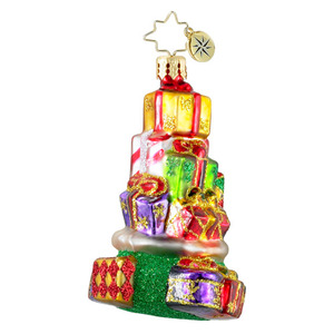 RADKO 1016208 BAG OF JOY GEM - STACK OF GIFTS - NEW 2012 (20)