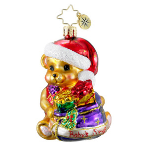 RADKO 1016198 CHRISTMAS CHEER GEM - BABY'S FIRST - NOT DATED - BEAR - NEW 2012 (20)