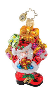 RADKO 1015082 PERFECT FIT GEM - SANTA - SNOWMAN - STOCKING - RETIRED ORNAMENT (18)