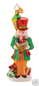 RADKO 1014571 CRACKER CAROL - NUTCRACKER - RETIRED ORNAMENT (G2)