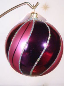 RADKO 01-0347-RS SILKY WAY - BALL ORNAMENT RETIRED (ZZ)