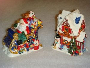 RADKO 2010429 ST NICHOLAS LANE SALT & PEPPER SET - 4