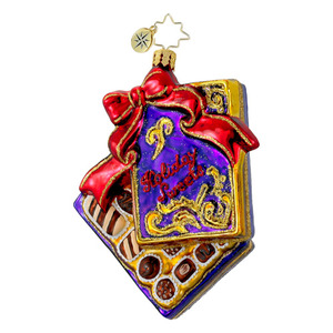 RADKO 1016256 TRUE TEMPTATIONS - BOX OF CANDY - VALENTINES ORNAMENT - NEW 2012 (12-13)