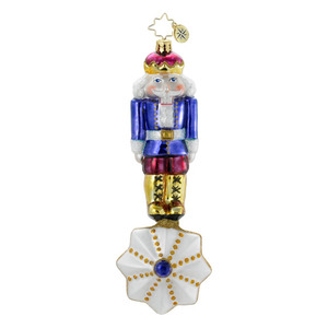 RADKO 1016331 DANCING ON A STAR - CLASSIC NUTCRACKER ORNAMENT - NEW 2012 (12-16)