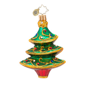 RADKO 1016935 FILIGREE FIR GEM - JEWELED TREE - NEW 2013 (21-1)