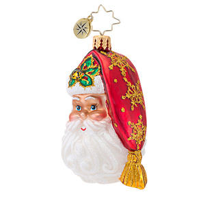 RADKO 1016746 TO ALL A GOOD NIGHT GEM - SANTA ORNAMENT - NEW 2013 (21)