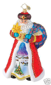 RADKO 1014896 WINTER SCENE WANDERER- SANTA LIMITED EDITION 500 - NEW 2010 (Q)