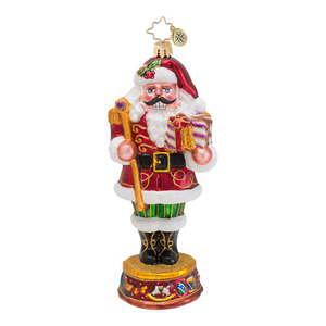 RADKO 1016718 NUTTY NICK - NUTCRACKER SANTA ORNAMENT - NEW 2013 (13-12)