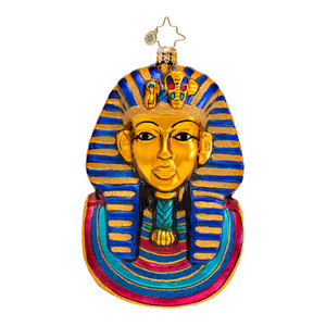RADKO 1016642 KING OF THE NILE - KING TUT - RETIRED ORNAMENT - NEW 2013 (13-9)