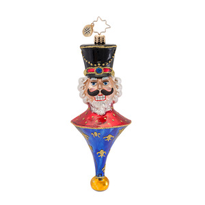 RADKO 1016821 TOP BRASS - CLASSIC RADKO NUTCRACKER ORNAMENT - NEW 2013 (13-15)