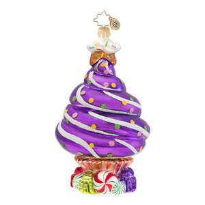 RADKO 1016645 SPRINKLE SPRUCE - CUPCAKE TREE ORNAMENT - NEW 2013 (13-10)