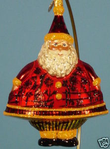 RADKO 3011570 MERRY MAXIMUS - SANTA - RECOLOR - RETIRED ORNAMENT (NN)