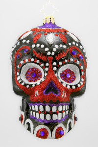 RADKO 3012875 LA CALAVERA BLACK - STORE EXCLUSIVE - DAY OF THE DEAD - HALLOWEEN ORNAMENT - NEW 2013 (H-4)