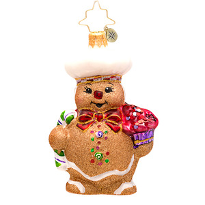 RADKO 1017201 GINGER BAKER GEM - GINGERBREAD MAN ORNAMENT - NEW 2014 (22)