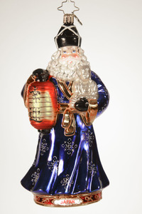 RADKO 1017430 FUJIYAMA SANTA - JAPAN - JAPANESE SANTA - CHRISTMAS AROUND THE WORLD COLLECTION - NEW 2014 (14-1)