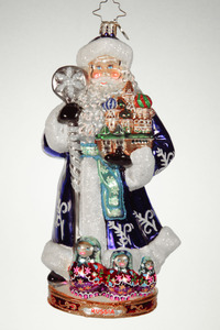 RADKO 1017424 FROM RUSSIA WITH LOVE - RUSSIA - RUSSIAN SANTA - CHRISTMAS AROUND THE WORLD COLLECTION - NEW 2014 (14-1)