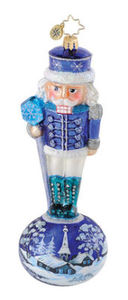 RADKO 1014806 WINTERLAND WARDEN - NUTCRACKER WITH SCENE - RETIRED ORNAMENT (Q3)