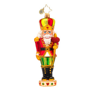 RADKO 1017177 SIR WARM HEART - NUTCRACKER ORNAMENT - NEW 2014 (14-7)