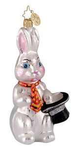 RADKO 1012207 SILLY RABBIT - BUNNY - EASTER - RETIRED ORNAMENT (E1)