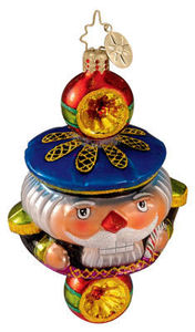 RADKO 1012596 NUTCRACKER CRUNCH JR - ORNAMENT - RETIRED FROM 2006 (M)