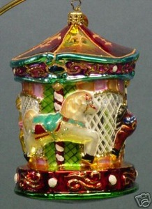 RADKO 3011642 CAROUSEL OF HOPE 2006 - CHILDRENS DIABETES CHARITY - RETIRED ORNAMENT (HH)