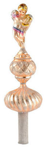 RADKO 1012834 ANGELS TOUCH FINIAL - TREE TOPPER - GERMAN - RETIRED
