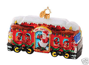 RADKO 1014643 CHRISTMAS CARRIAGE - B&O RAILROAD - TRAIN