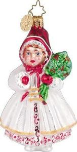 RADKO 1011102 WINTER BONNET - RED RIDING HOOD - RETIRED ORNAMENT (QQ)